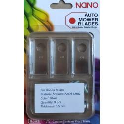 nano 9db acél robotfűnyíró...