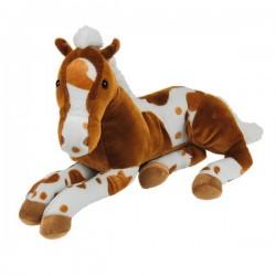 Plüss ülő ló 48cm világos...