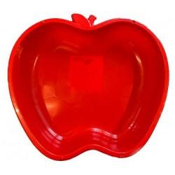 Alma alakú homokozó piros