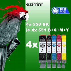 20x PGI-550/CLI-551 XL...