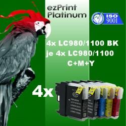 4-4x ezPrint LC980 LC1100...