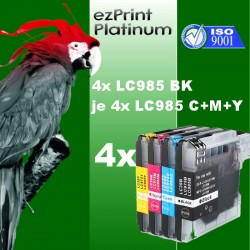 4-4x ezPrint LC985 BK +...