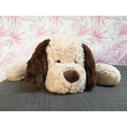 Plüss fekvő kutya 70cm