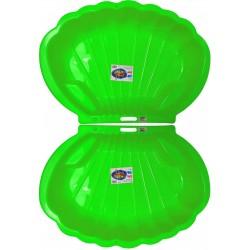 Kagyló alakú homokozó zöld...
